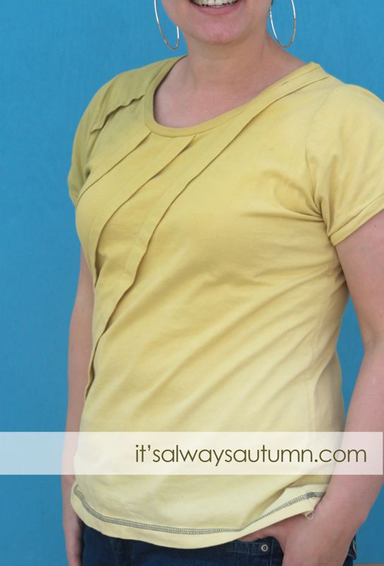 make: ombre reverse dyedtee