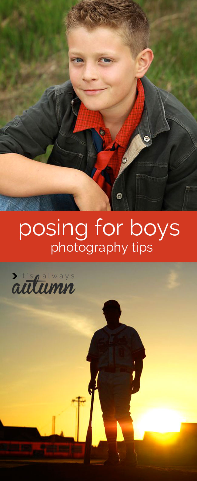 photography tips & tricks: how to pose boys