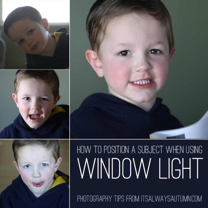 Photograph: Using Window Light