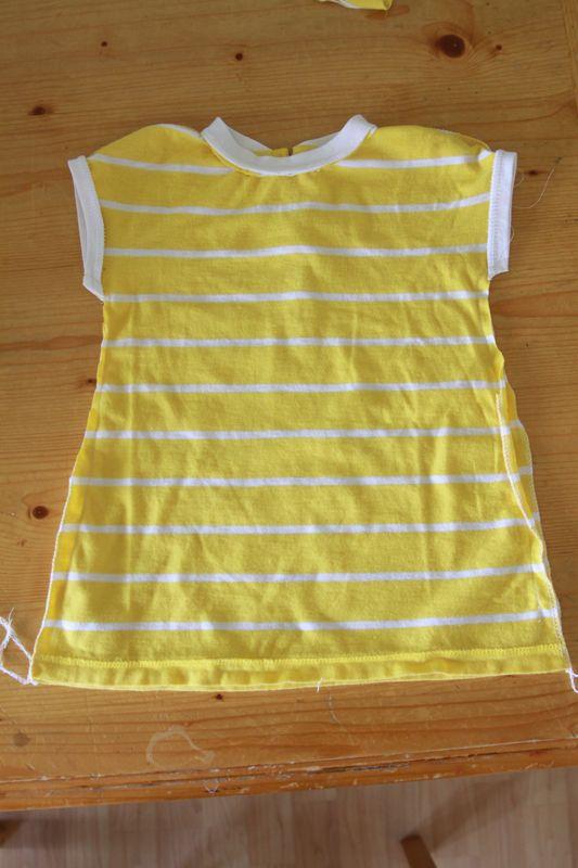 f1b35c03 Sew: Baby dress from women's shirt - It's Always Autumn