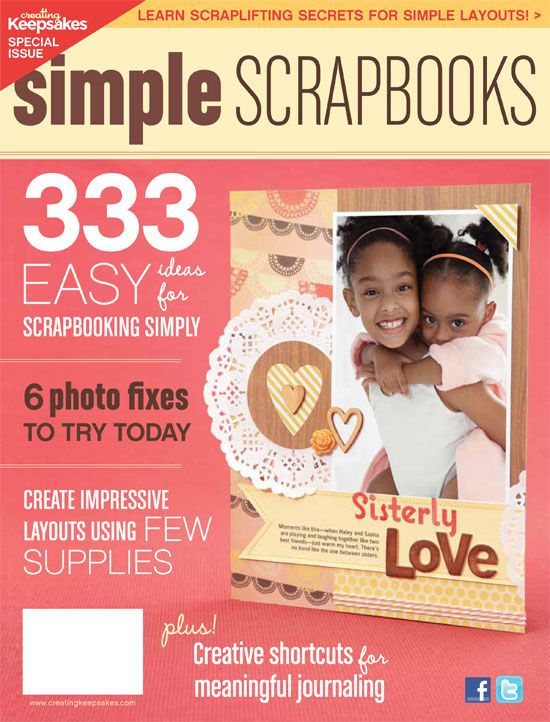 scrapbook: Another creating keepsakesgiveaway!