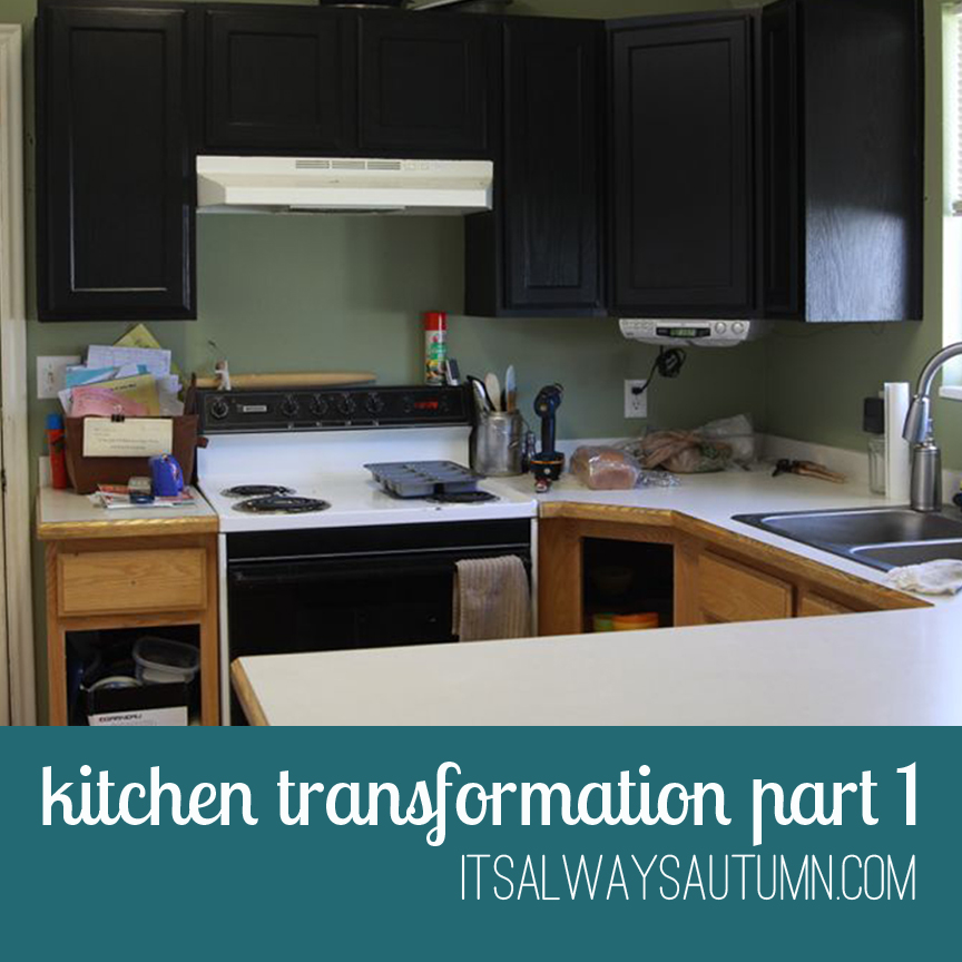 The Kitchen Transformation, Part 1 {overview Of Rustoleum Kitchen  Transformations}