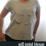 sew: soft petalblouse