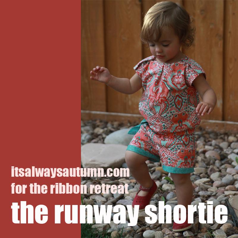 Sew: The Runway Shortie {free patterndownload!}