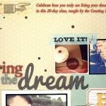 scrapbook: win a spot in 'Living the Dream' at Big Picture Classes