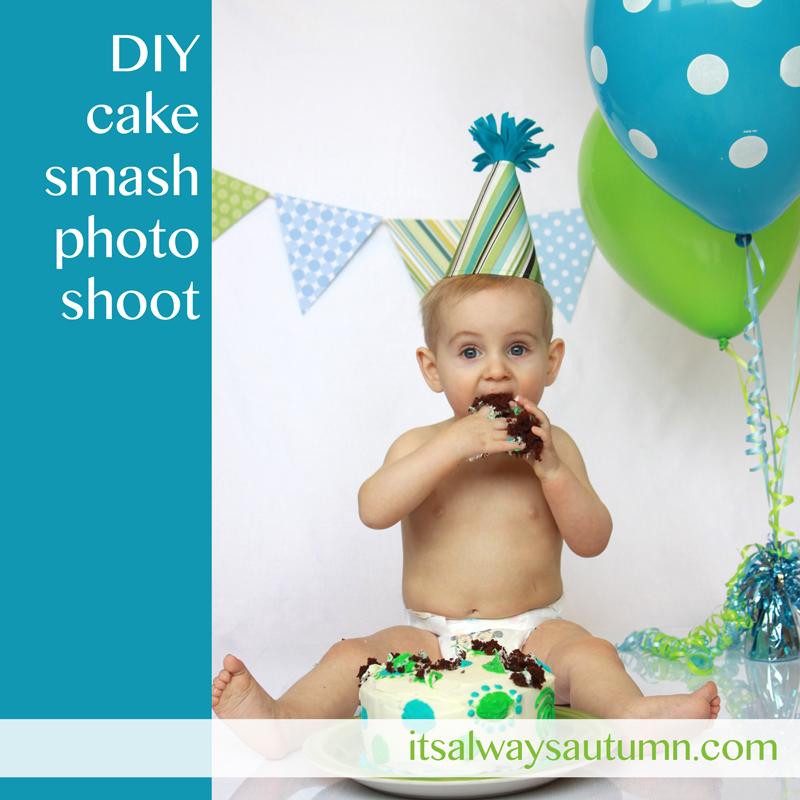 Birthday Photography Tips And Tricks: Photograph: DIY Cake Smash