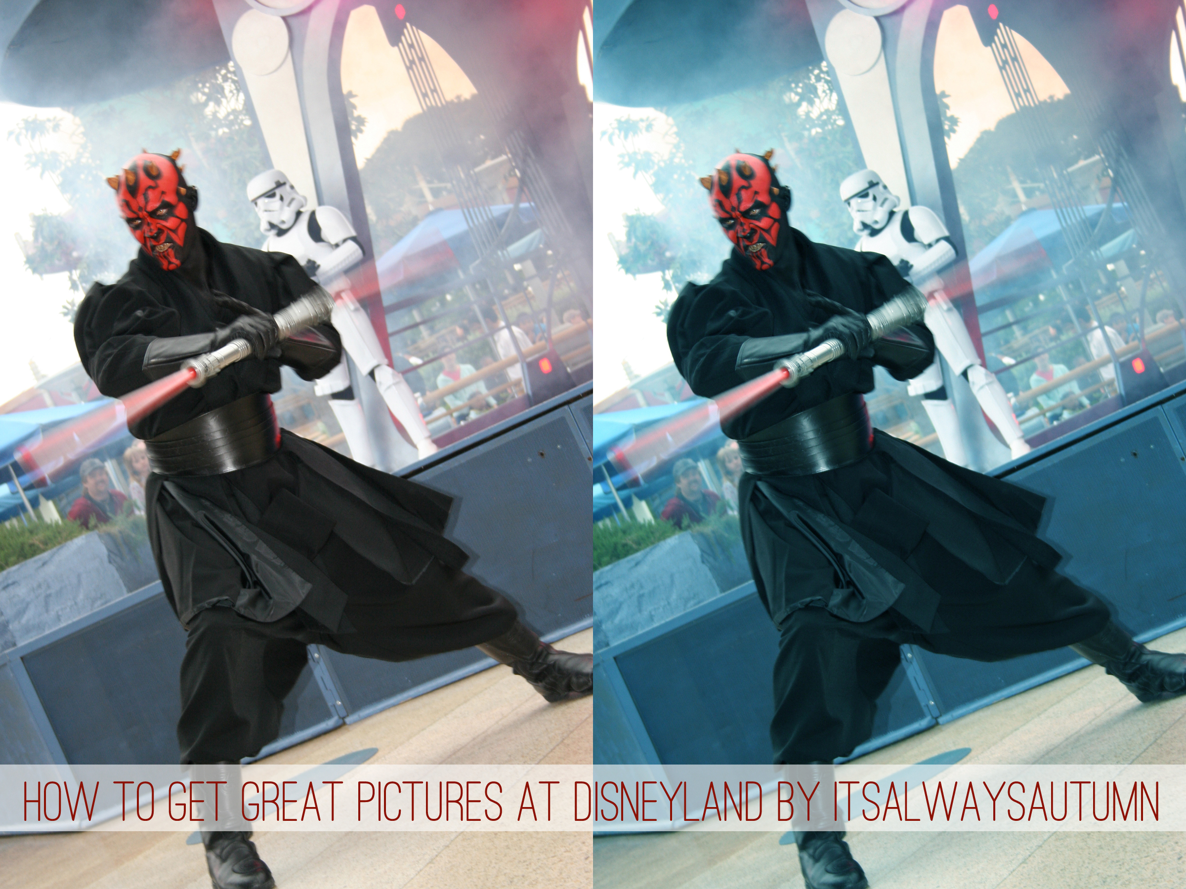 Disney week: Photo tips (plus how to capture motionblur)