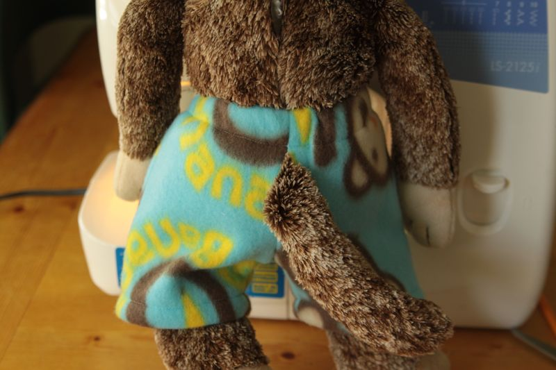 easy free sewing pattern for teddy bear pajamas it s always autumn