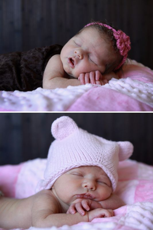 This photography series teaches parents how to take newborn photos at home everything you need