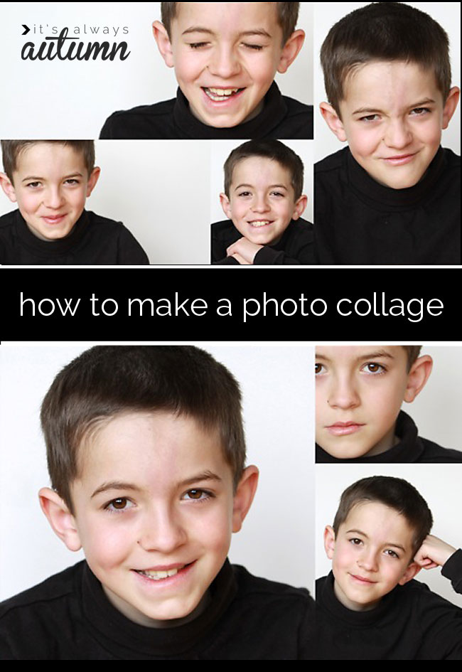 the best and easiest way to make a photo collage