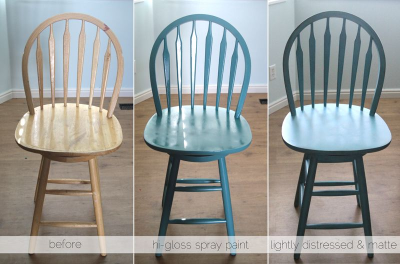 The Easiest Way To Refinish Bar Stools It S Always Autumn