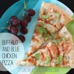 recipe: buffalo and blue chickenpizza