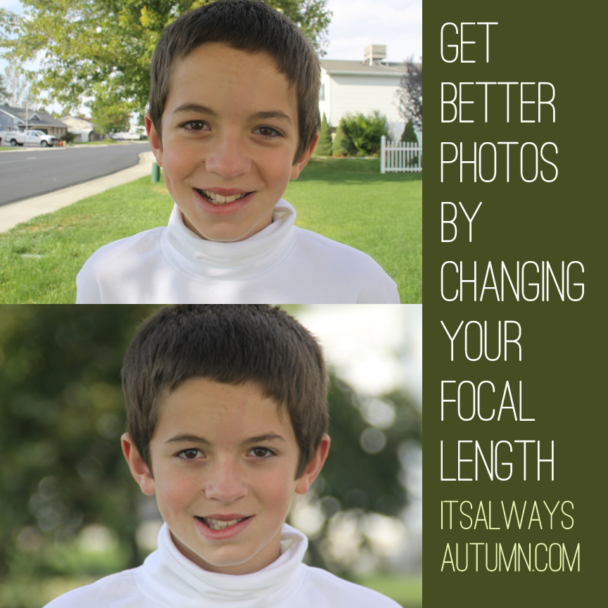 get better photos by understanding focal length - It's ...