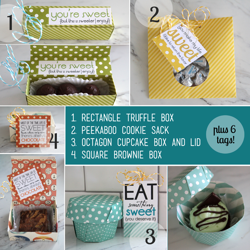 free template downloads and instructions for treat packaging - It\'s ...