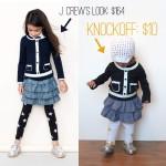 j.crew knockoff {leggings and shoestutorial}