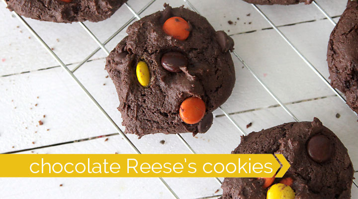 reeses-chocolate-cookies