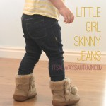 little girl skinny jeans using a leggingspattern