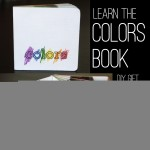 learning colors book {kids can do it}