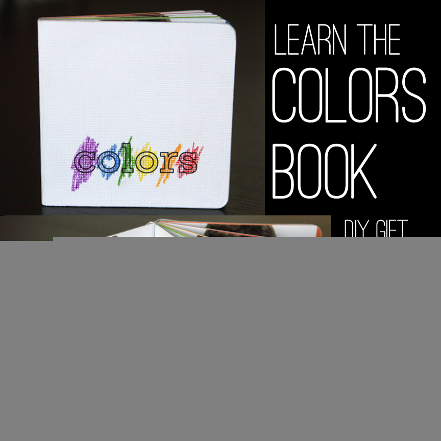 learning colors book {kids can doit}