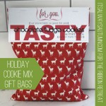 holiday cookie mix giftbags