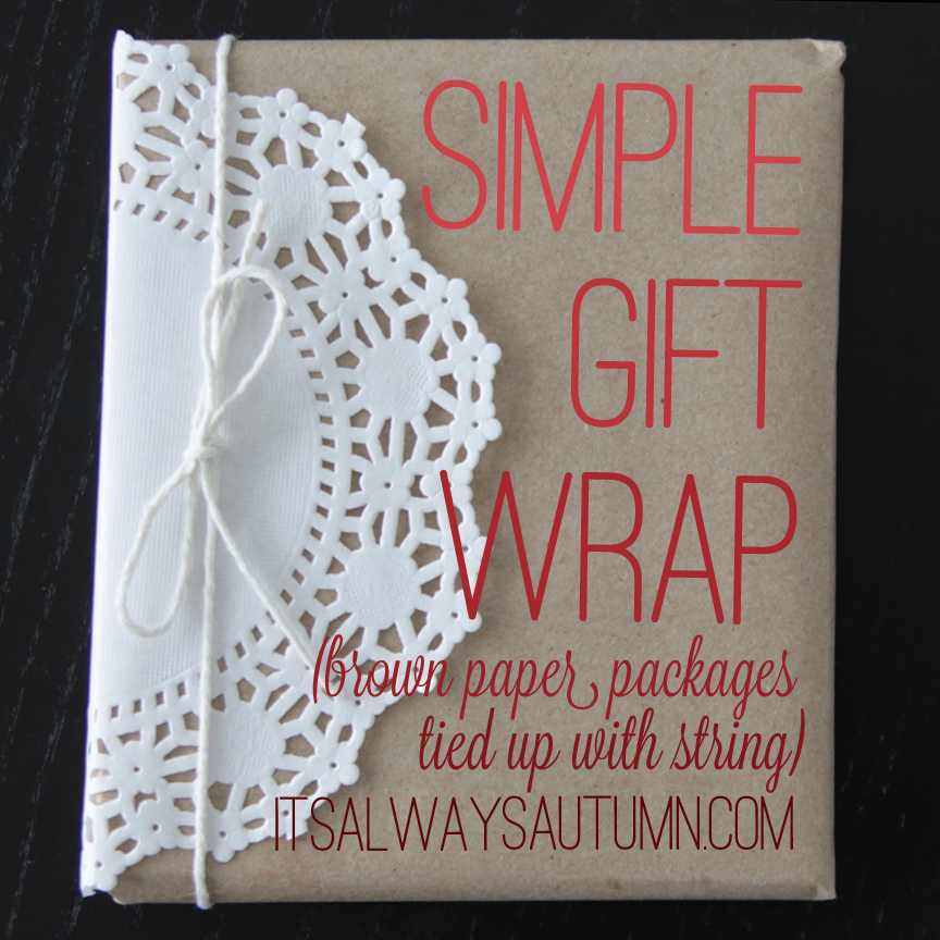 wrappingpresents