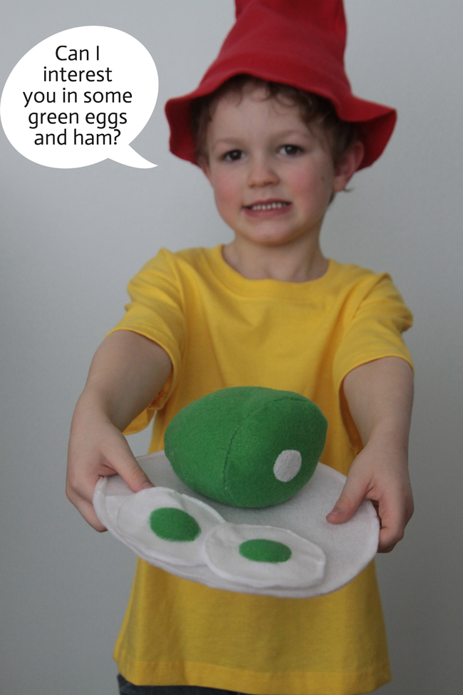 Easy Diy Green Eggs And Ham Costumes For Dr Suess Day
