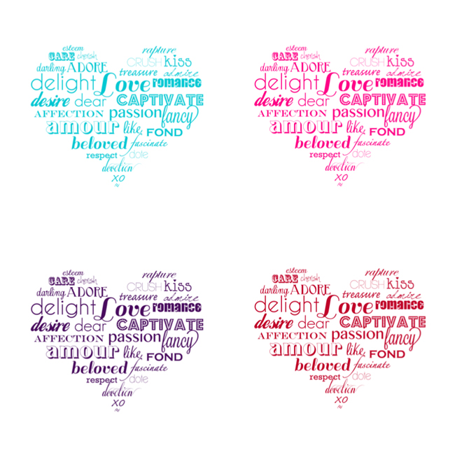 STL: Valentine's printable with Jen from iCandyHandmade