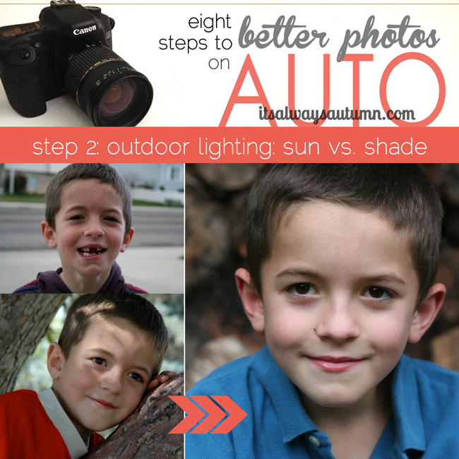 8 steps to better photos on auto {step 2: outdoorlight}