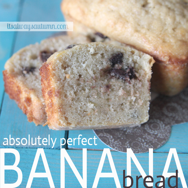 the very best banana bread recipe
