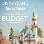 disneyland tips&tricks: Disneyland on abudget