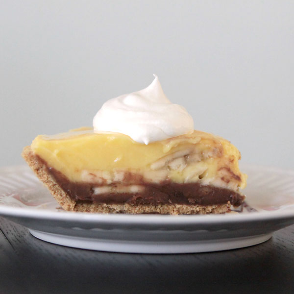 15 minute black bottom banana cream pierecipe