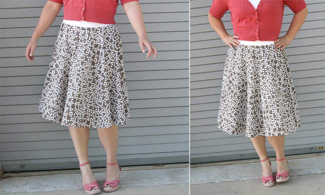 Diy Circle Skirt From A Thrifted Sheet It S Always Autumn