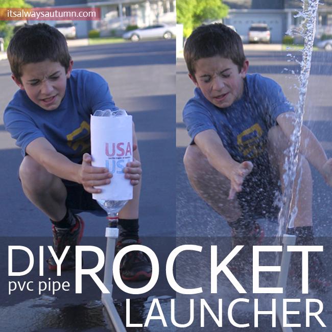 Water Bottle Rocket Projects: DIY Pvc Pipe Rocket Launcher