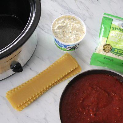 crockpot lasagnerecipe