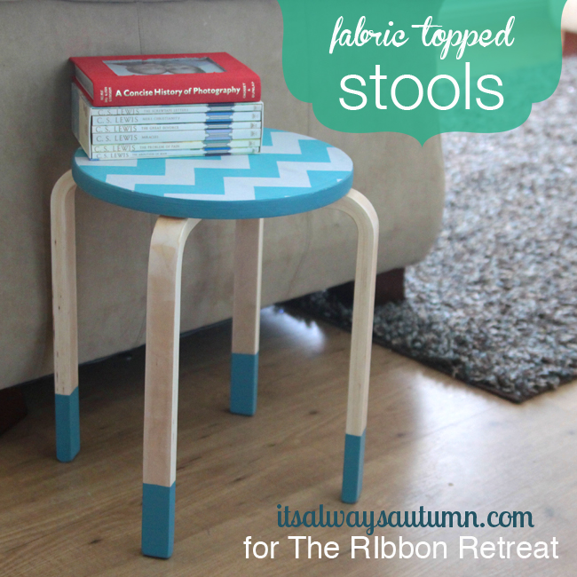 fabric topped kitchenstools