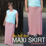 easiest ever wrap maxi skirttutorial