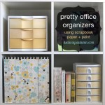 pretty office & craft supplies organization