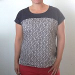 the easy tee {the anthro pattern drop version}