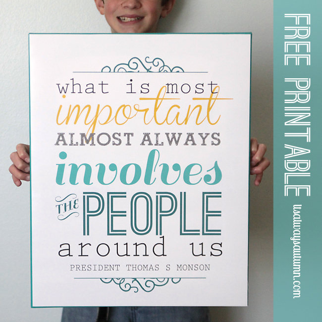 what is most important free printable chalkboard version - Free Printable Pictures