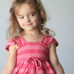 the pink dress my daughter doesn't need…and a shirringtutorial