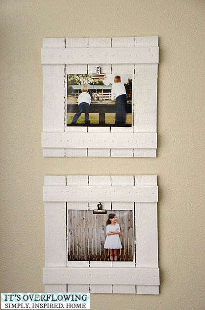 20 best DIY picture frame tutorials - It\'s Always Autumn