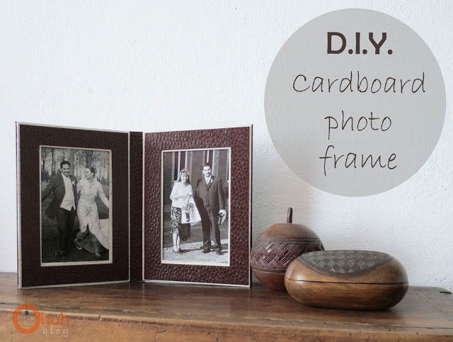 diy cardboard frame 33 small