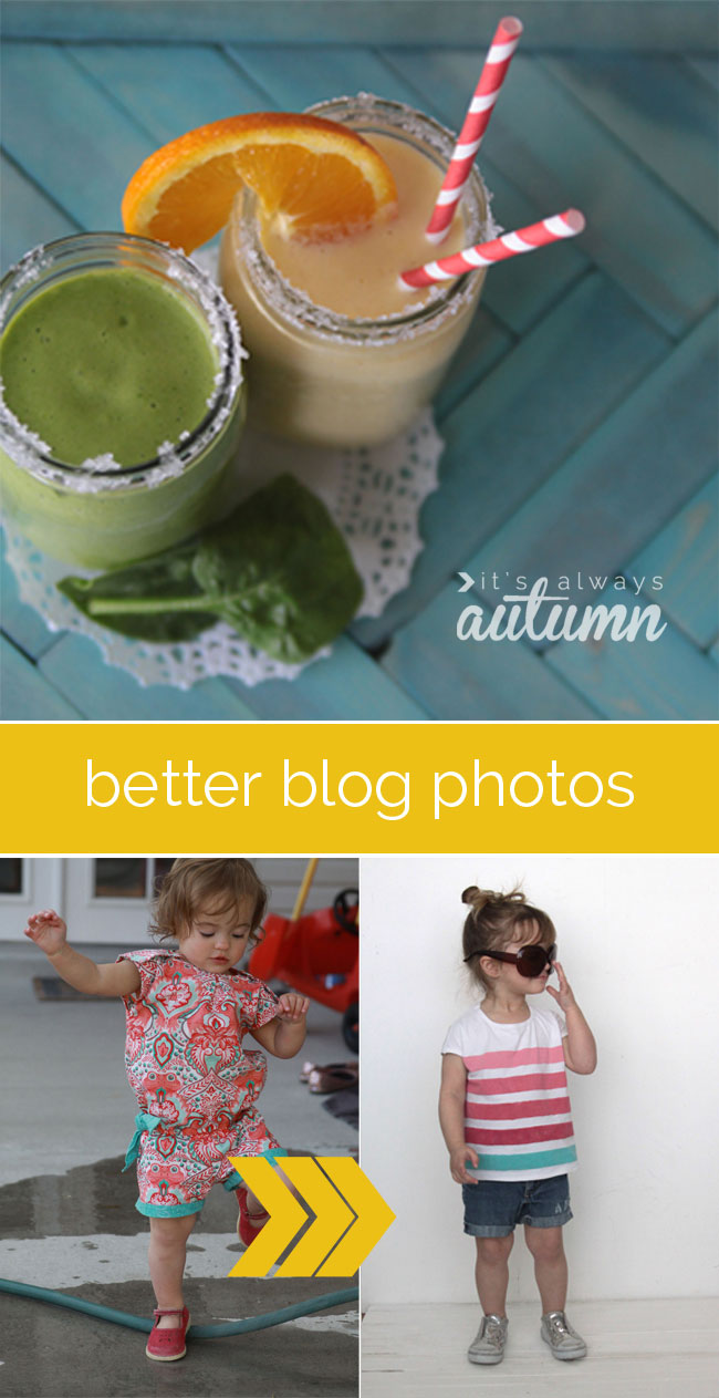 how to improve your blog, food, and product photography