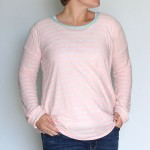 the easy tee {the long sleeve version}