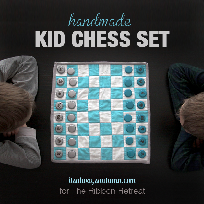 kids chess set how to sew gift