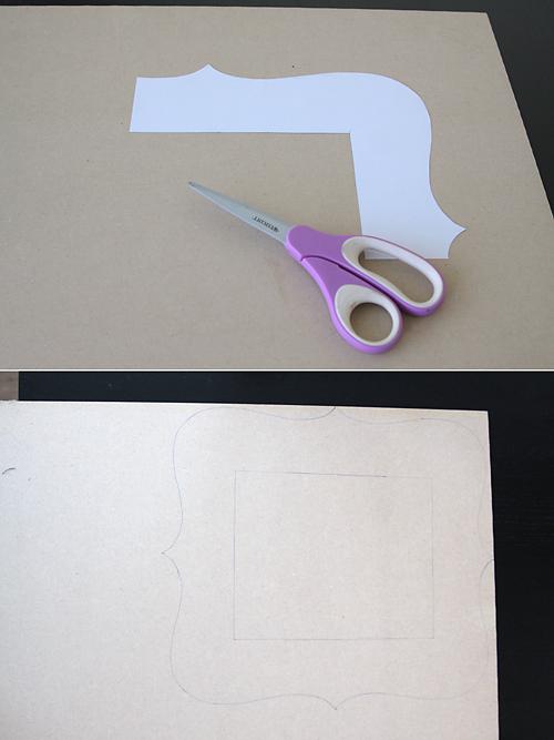 making a photo frame