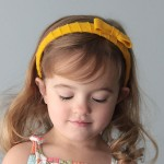 easy DIY felt wrapped headband