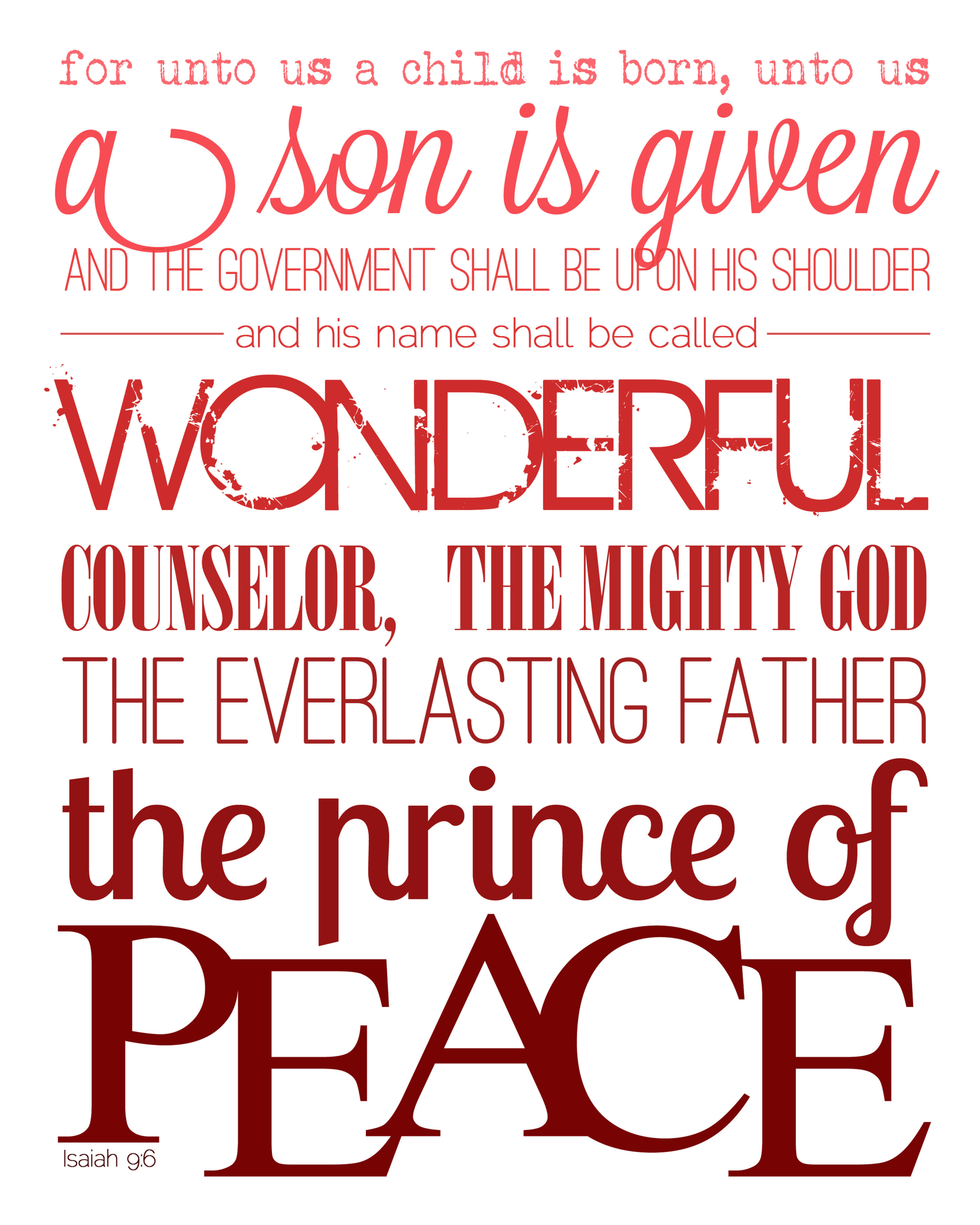 Bible Verses For Christmas. Excellent Christmas Bible Verse ...