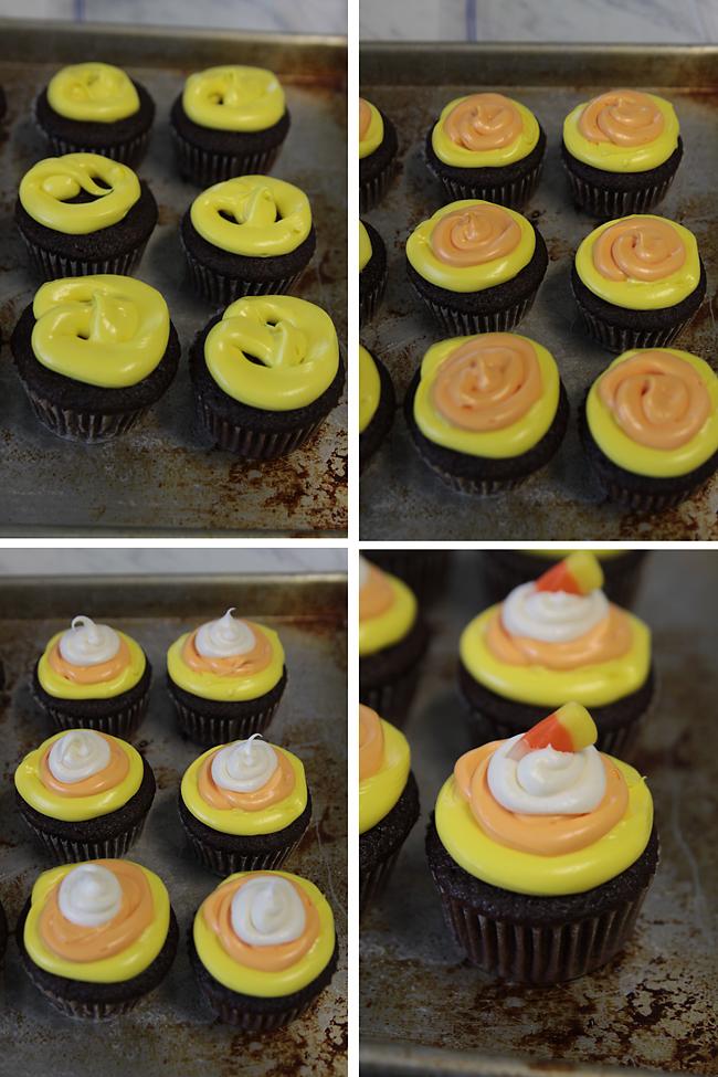 halloween-candy-corn-cupcakes-dessert-kids-simple