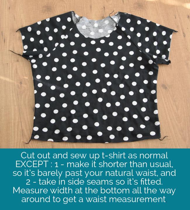 how to sew a peplum shirt - It\'s Always Autumn
